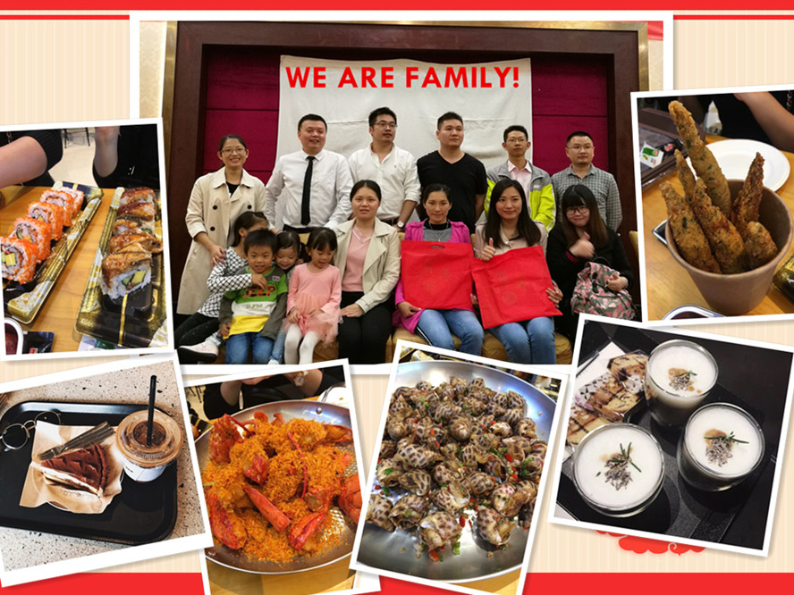 We are family! We are team, we are friends! Cold Jewellery New Year Party!